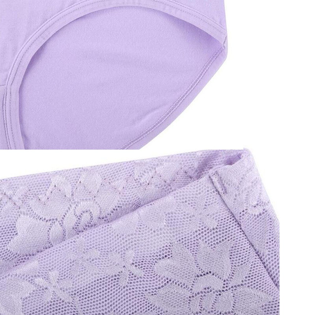 Women's Body Shaper Laced Floral Panties