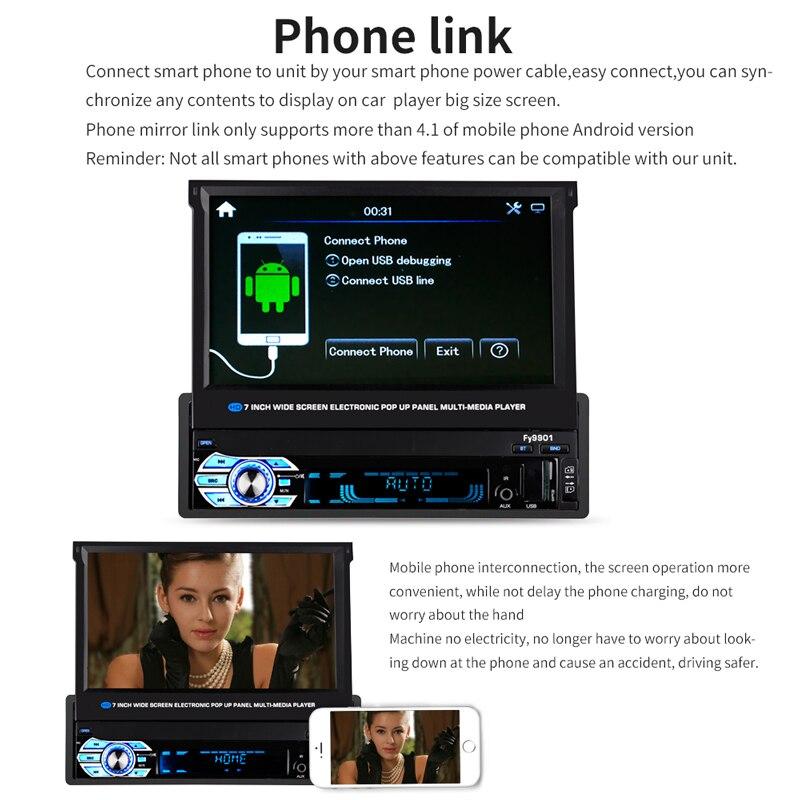 Autoradio Retractable Screen (6)