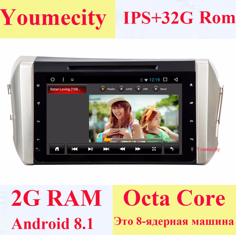 Android 8 1 Car Dvd Video Player Head Unit For Toyota Innova Crysta Navigation Wifi Octa Core