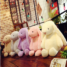 New 30 45 60cm Super soft short plush toys British rabbit doll toy custom children birthday gift peluches brinquedos
