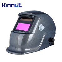 Kinnut Welding Helmet GRID Solar/Lithium Automatic Welding Helmet Welding Mask Adjustable size with Washable Sweat Band.