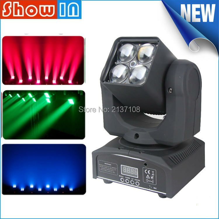 90W Osram RGBW LED Moving Head Beam Wash Zoom DMX DJ Disco Party Wedding Stage Lighting Equipment 110V 230V Free Shipping 6pcs lot white color 132w sharpy osram 2r beam moving head dj lighting dmx 512 stage light for party