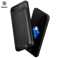 Baseus External Battery Charger Case For IPhone 8 7 6 Plus 2500 3650mAh Portable Power Bank