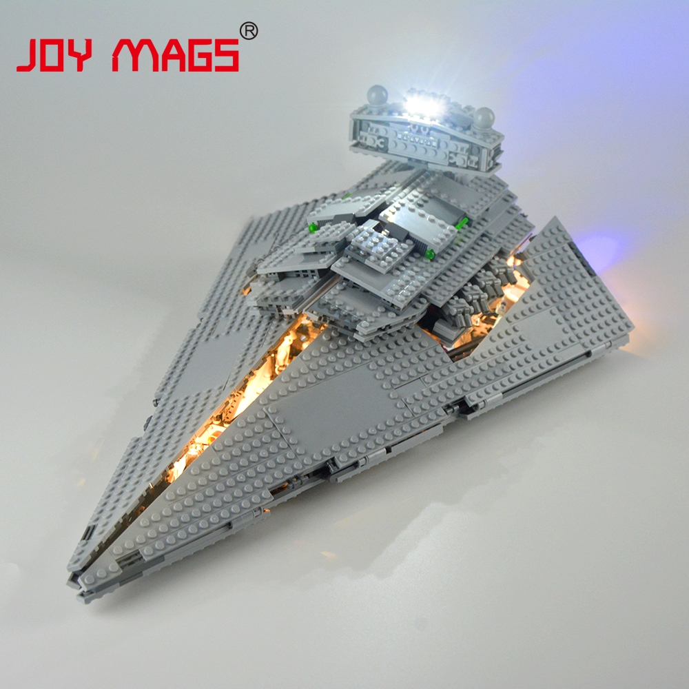 JOY MAGS Led Light Kit Only Light Set For Imperial Star Destroyer Light Set Compatible With