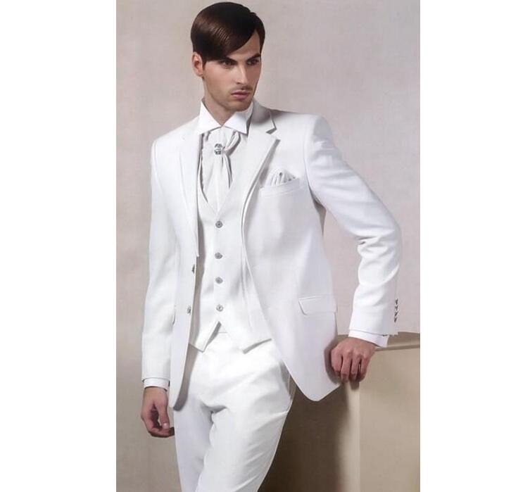 Top custom men\'s leisure suit formal wedding the groom suit elegant ...