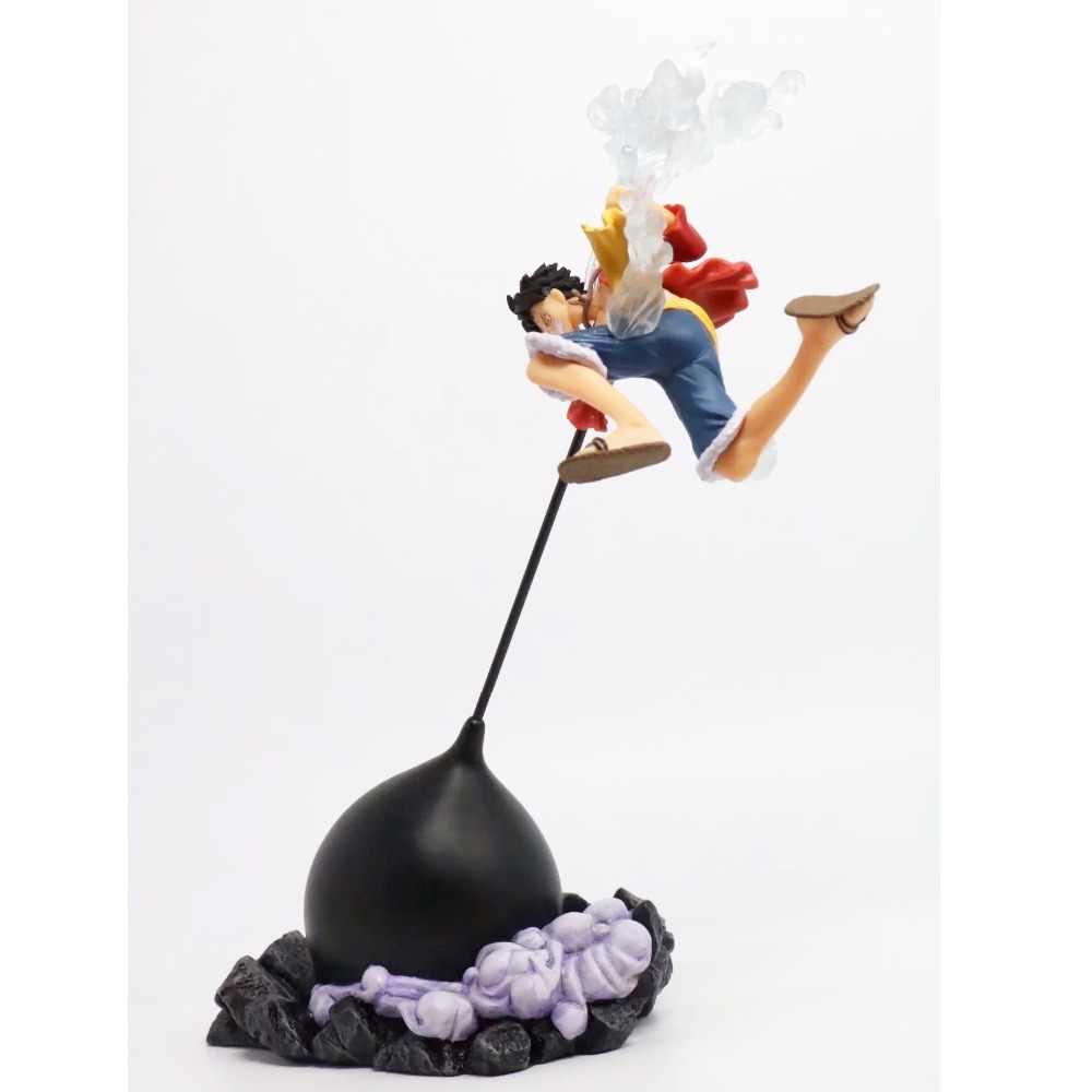 26 cm One Piece Luffy Combate Forma PVC Action Figure Model Collection Toy Anime One Piece Luffy Boneca de Exibição Jouet presente de natal Brinquedos