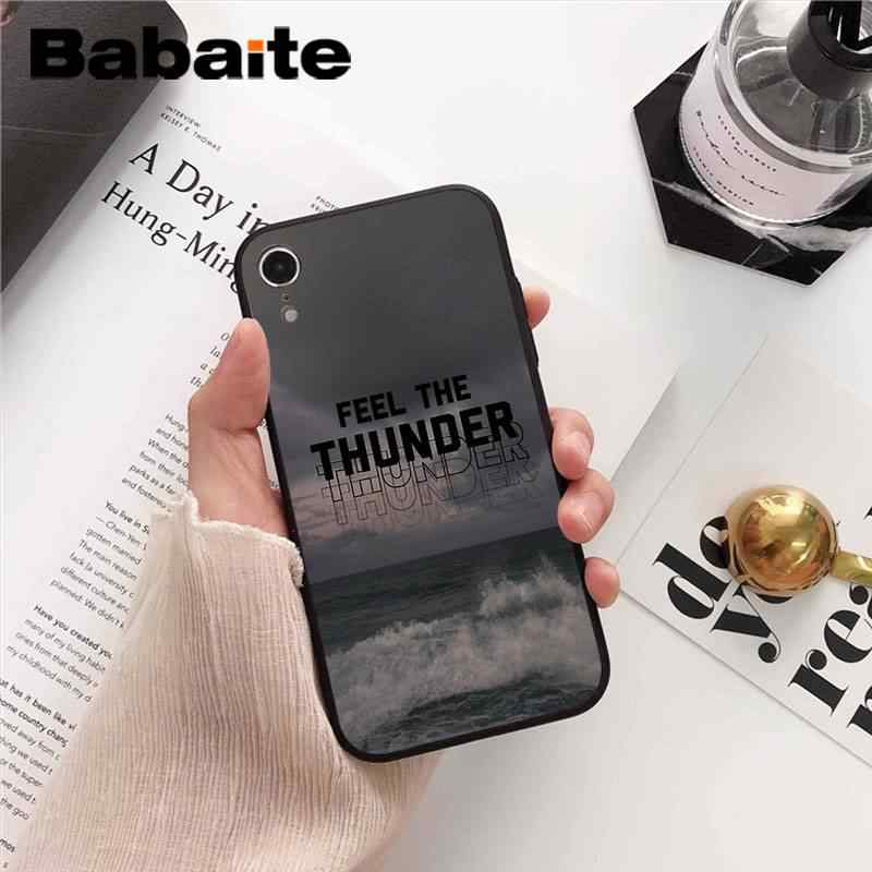 Babaite לדמיין דרקונים לילה מוסיקה Coque פגז טלפון מקרה עבור iPhone 8 7 6 6S בתוספת X XS מקסימום 5 5S SE XR 10 11 11pro 11promax