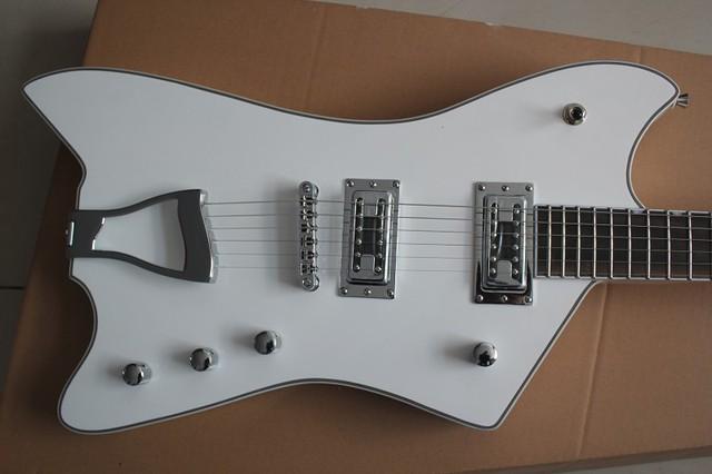 Gretsch Billy Bo Jupiter Thunderbird Umge Fsr E Gitarre Weiß