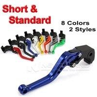 2015 Motorbike CNC Long Short Brake Clutch Lever For Suzuki 600 750 K4 K6 K8 GSXR