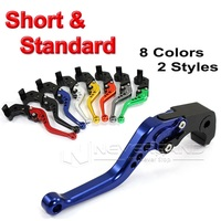 2015 Motorbike CNC Long Short Brake Clutch Lever For Suzuki 600 750 K4 K6 K8 GSXR