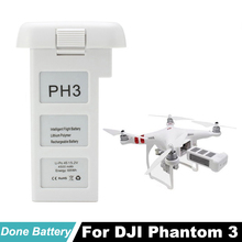 цены DJI Phantom 3 Intelligent Battery PH3 Professional Advance Standard Version 4500mAh battery For DJI FPV Racing RC Camera Drone