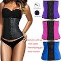 Ak2216 Body shaper underbust plus size waist corset minceur steel bone waist corset belt latex corset shapewear slimming corset