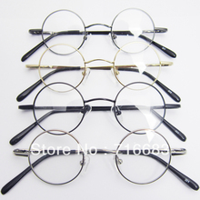 37 мм маленькие круглые Ретро Винтажные детские очки для очков круглые оправы для очков