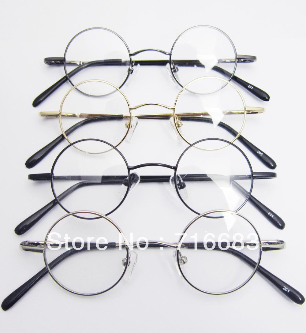 37mm small round 4 pieceslot wholesale retro vintage children kid kids eyeglass frame