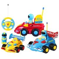 Beiens Cartoon R / C Formula Race Car Radio Control Toys for Toddlers