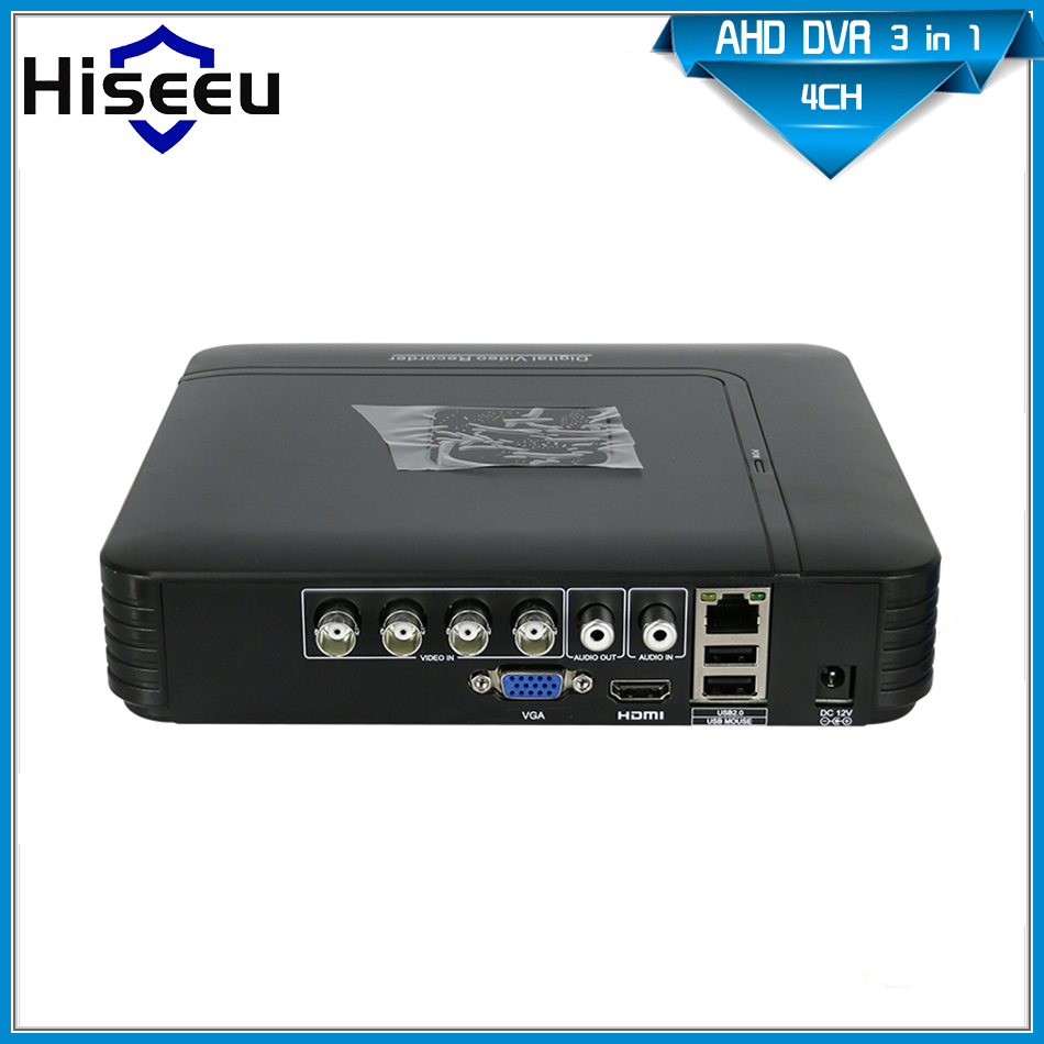 CCTV Mini DVR 4 Channel 960H Digital Video Recorder 4CH 8CH AHD Hybrid DVR HVR NVR