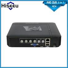 CCTV Mini DVR de 4 Canales 960 H Grabador de Vídeo Digital 8CH 4CH AHD Sistema HVR NVR híbrido DVR H264 P2P Seguridad Home Plug Power De LA UE