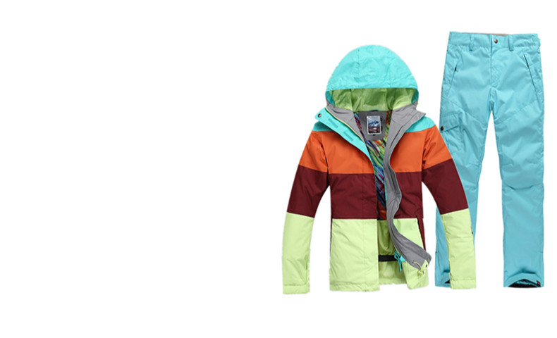 Jaquetas de esqui