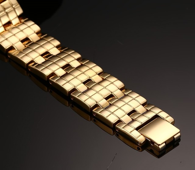 Фото модные ювелирные изделия золотого цвета из нержавеющей стали цена