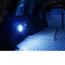 Lsrtw2017 LED Car Trunk Trim Light for Rtrumpchi Gs8 2017 2018 2019 2020