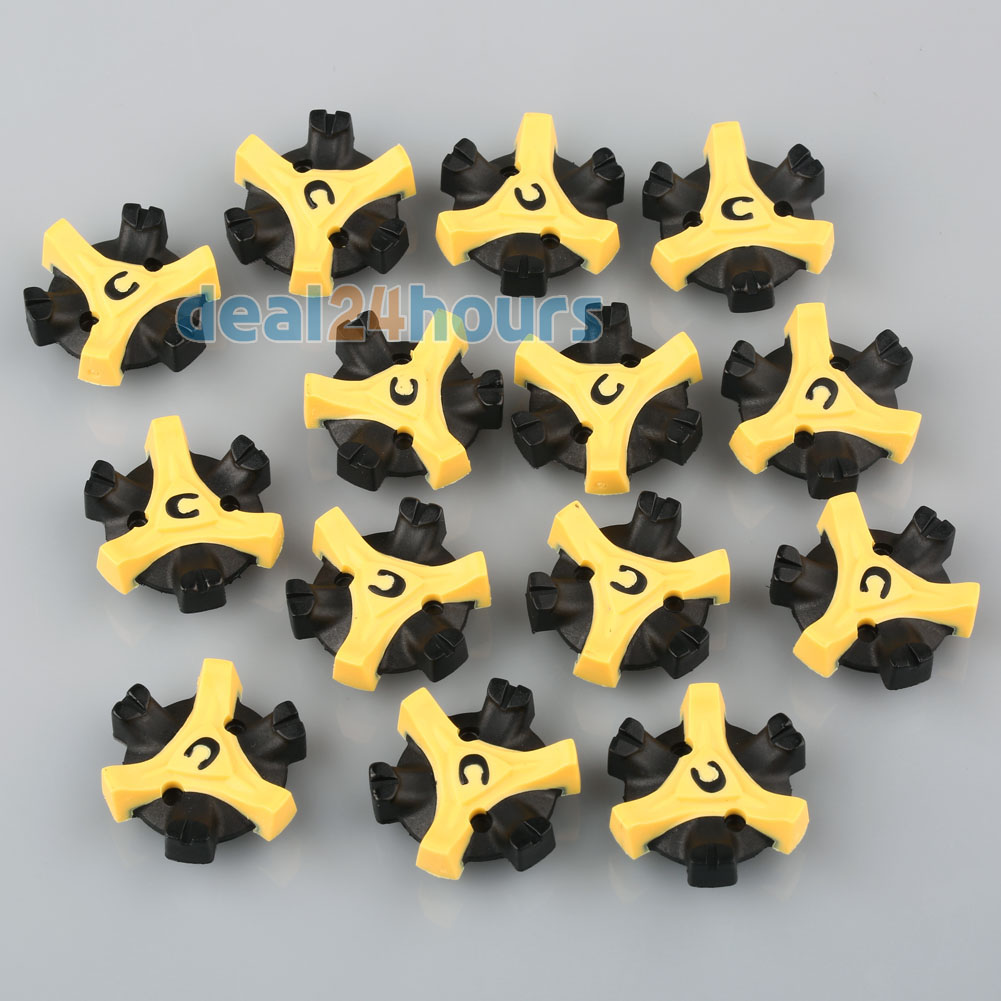 14PCS Golf Shoe Spikes Replacement Champ Cleat Fast Twist Q-Lok For Footjoy Free Shipping