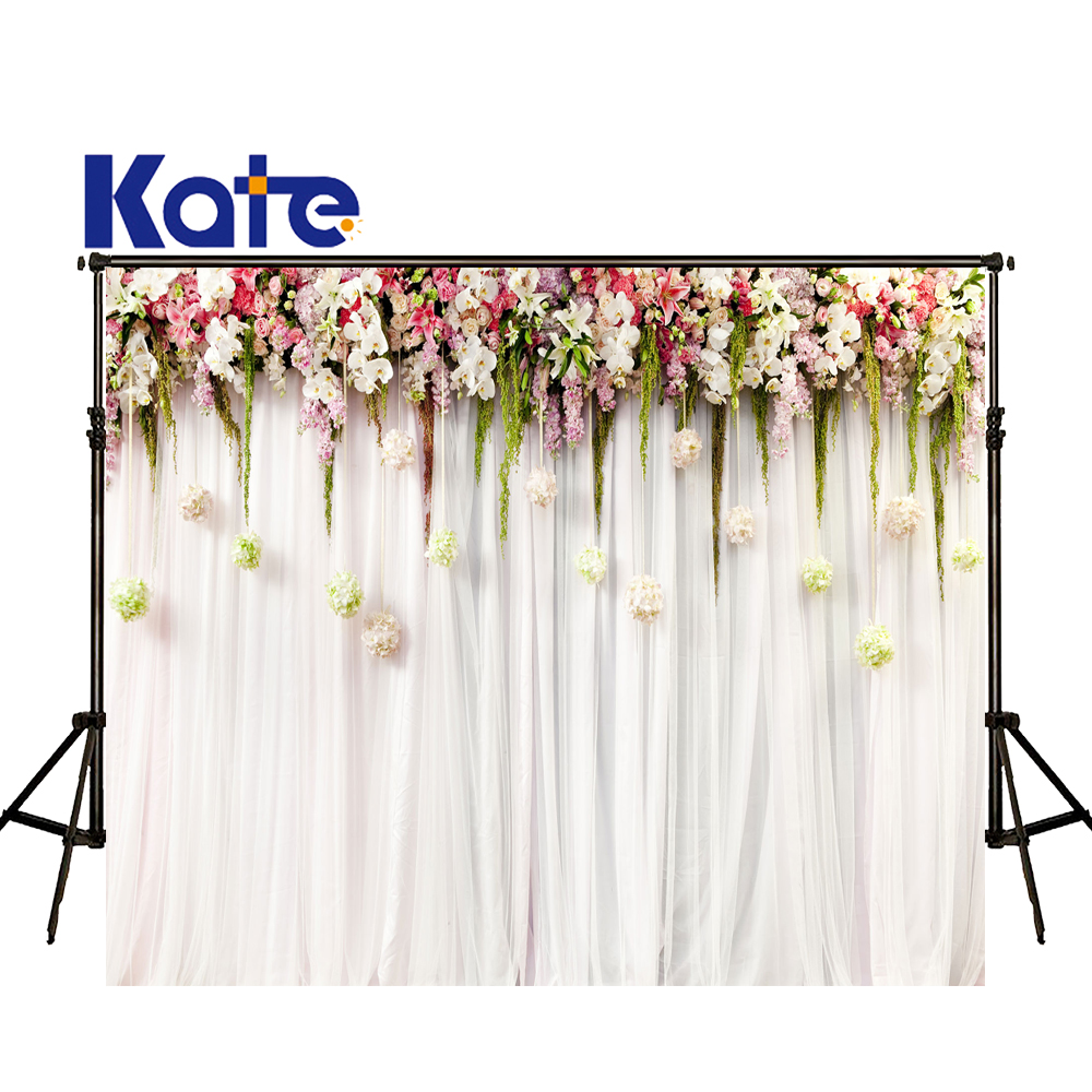 KATE Photography Backdrop 10x10ft Floral Backdrops Wedding Backdrops Flower Backdrop Curtains Wedding Romantic Background kate flower wall pink backdrop romantic wedding photography backdrops spring photography backdrops large size seamless p