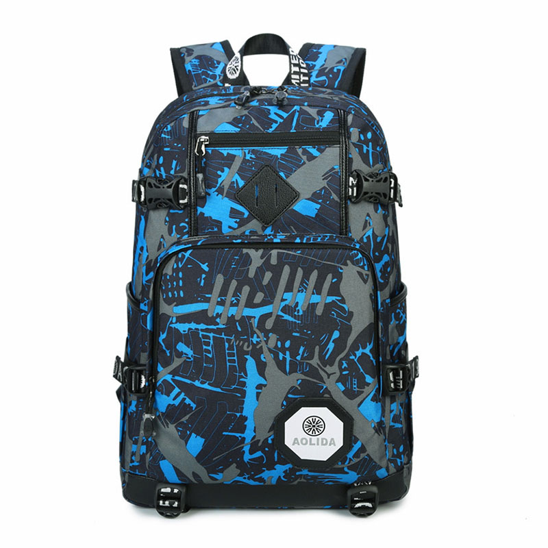 Male Backpack Youth Mochila School Bags For Teenagers
