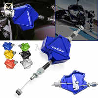 Motorcycle CNC Aluminum Stunt Clutch Lever Easy Pull Cable System For Hyosung GT250R 2006-2010 GT650R 2006-2009 GT 250 650 R