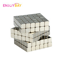Enjoybay 216Pcs Magnetic Cube Blocks Magic Puzzle Toys Relieve Anxiety Autism ADHD Puzzles Educational Toy for Kids