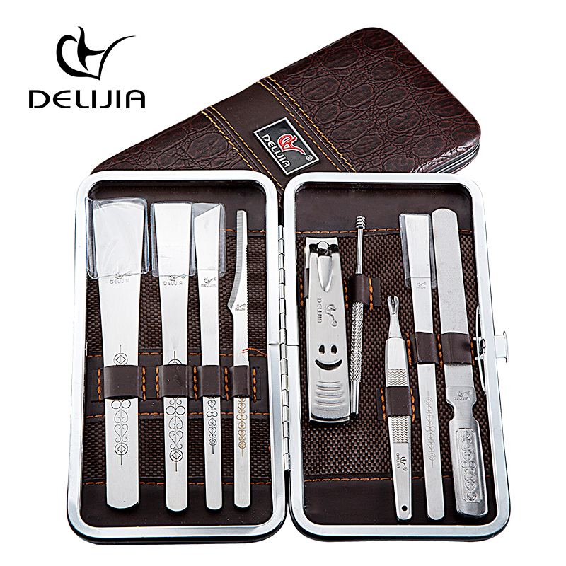 DeLiJia 9 in 1 Manicure Nail Lamp Set For Manicure Set For Nail ...