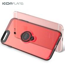 Iconflang для iPhone 6 6 S Чехол Роскошные Жесткий ПК задняя крышка 360 полная Защита задняя крышка кольцо держатель для iPhone 6 plus кольцо случае