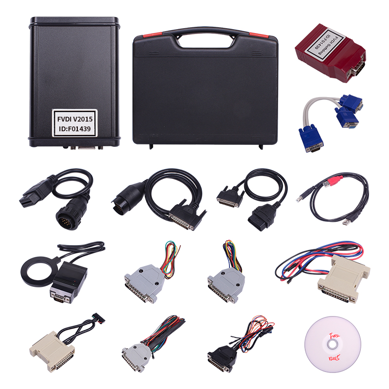 Image 2 - FVDI 2018 Full Version as VVDI2 (Including 18 Software)  fvdi 2015 ABRITES Commander Read Pin Code fvdi 2014 key programmer-in Air Bag Scan Tools & Simulators from Automobiles & Motorcycles on