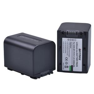 Image 2 - 2 paket 2500mAh NP FV70 NP FV70 NPFV70 piller ve LCD USB şarj aleti Sony NP FV50 FV30 HDR CX230 HDR CX150E HDR CX170 CX300 z1