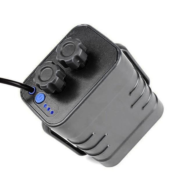 Chaude 6 Section 18650 étanche boîtier de batterie 18650 batterie 5VUSB/8.4VDC double Interface 18650 étanche batterie maison couverture