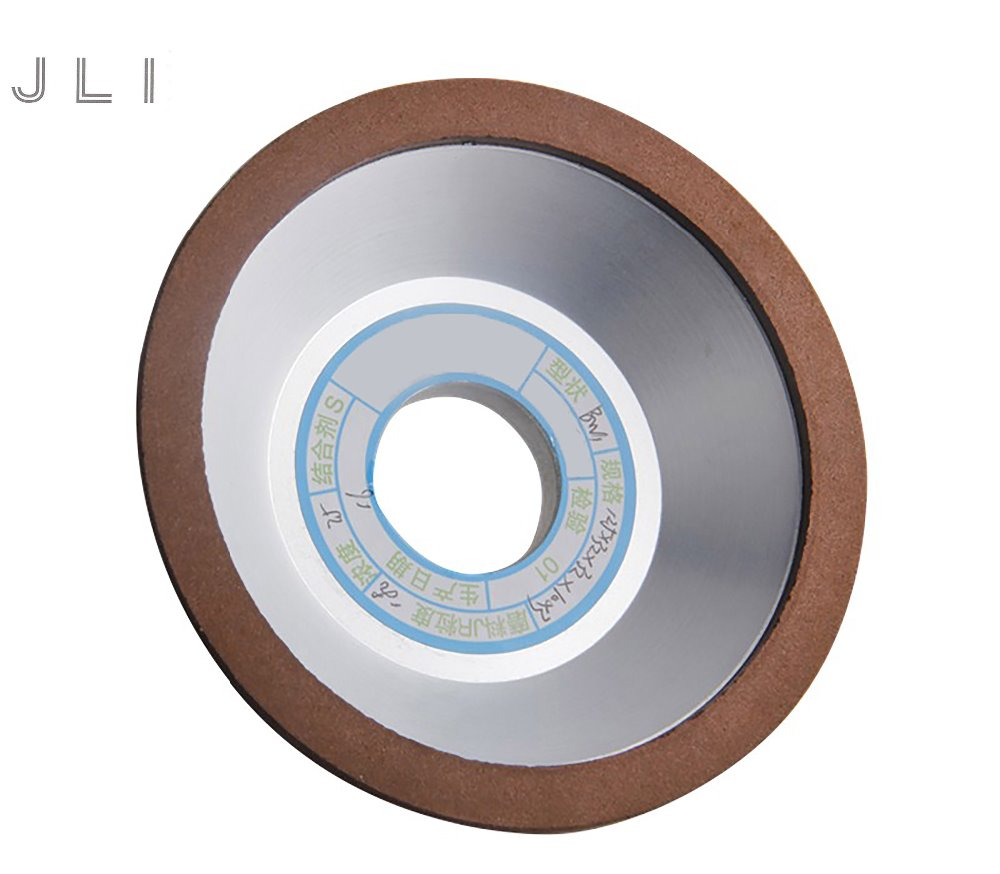 JLI 125mm 150/180/240/320 Grain Diamond Grinding Wheel Bowl Type Cutting Disc Milling Cutter Grinding Wheel Rotary Abrasive Tool geminijets gjdlh1226 a340 300 d aife 1 400 lufthansa