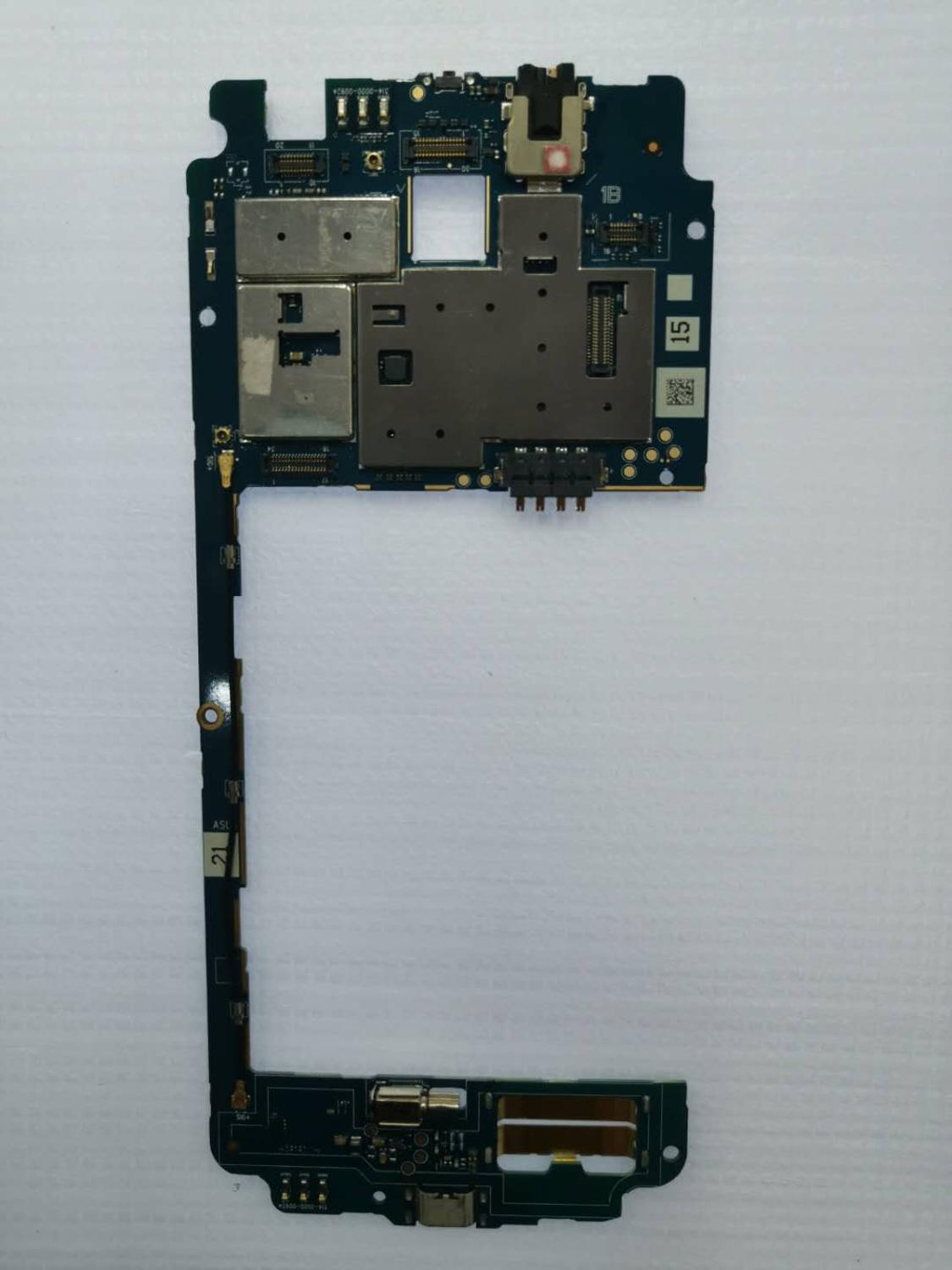 Best Working Mainboard For ASUS Zenfone Go TV ZB551KL 16GB Motherboard Mainboard Logic Board Circuits Card Fee Flex Cable