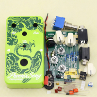 DIY Overdrive Pedal Efeito Guitarra True Bypass com Kits de pedais 1590B guitarra Elétrica stompbox DO1