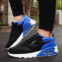 Tênis para Os Homens Das Sapatilhas sapatos de Desporto Respirável sapatos Esporte de Corrida dos homens atlético formadores Sapatilhas Confortáveis luz
