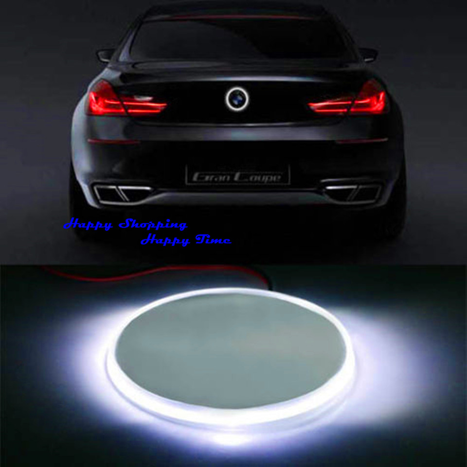 Bumper sticker maker free online - Brand New 82mm White Badge Emblem Led Background Light Sticker For Bmw 3 5 7 X
