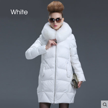 European Winter Jacket Women Winter Down Jackets and Coats with Fur Luxury Parka ukraine Woman Ultra Light Down Coats for Women