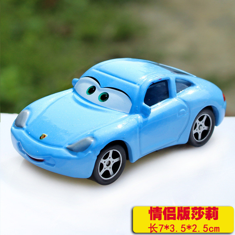 Pixar Cars Diecast Sally Metal Toy Car For Children 1:55 Loose Brand New In Stock Cartoon McQueen Hot Selling