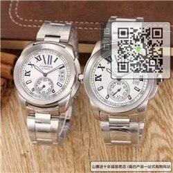高仿卡地亚CALIBRE DE CARTIER 系列对表  高仿W7100015手表