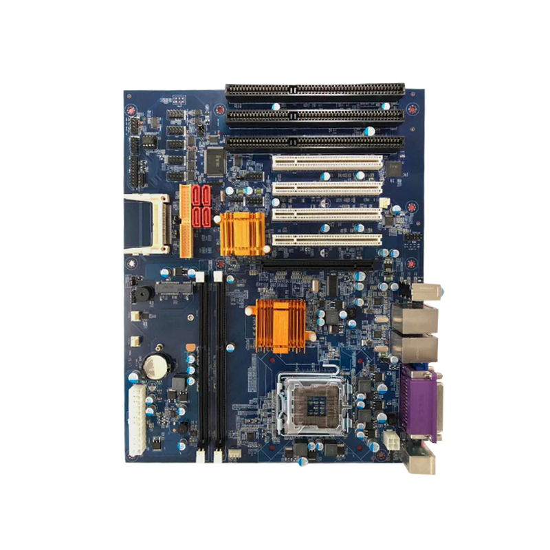 5Pieces G41 Industrial  Motherboard DDR3 With  4*PCI 3*ISA