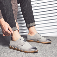 New Style Fashionable Mens Shoes British Social Casual Young People Take Up The Board 5