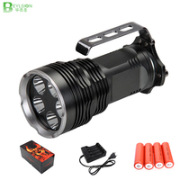 1X Powerful LED flashlight T6 6000LM Aluminum Waterproof Zoomable CREE LED Torch light LEDS linterna lights lamps torche lights