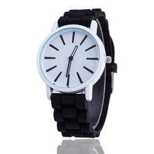 Women Sports Watch Mens Watches Style Wristwatch Jelly Color Silicone Quartz Analog Dress Wrist Watch Men Fashion Student Clock