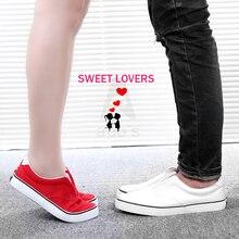 รองเท้าผ้าใบคู่2016หญิงลื่นบนผ้าฝ้ายทำชายหญิงรองเท้าลำลองS Liponyผู้หญิงรองเท้าร้อน