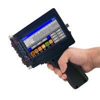 Ручной Портативный принтер мини струйная этикетка принт сенсорный экран 600 Точек на дюйм Интеллектуальный USB qr код принтер для этикеток стр