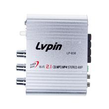Автомобильный усилитель 12V Мини Hi-Fi 2,1 автомобильный усилитель MP3 MP4 стерео аудио плеер Авто звуковой усилитель сабвуфер