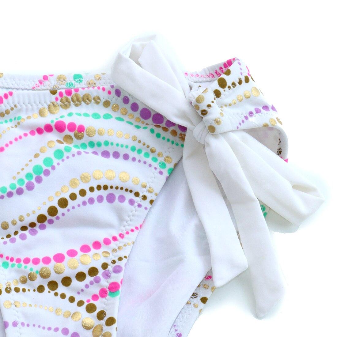 Underwier BIKINIS sets Swim Suit for Women White Bikini  Bathing suits Swimwear Swimming Wave Point Sexy Secret biqini 4